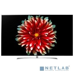 LG 55'' OLED55B7V серебристый/черный {Ultra HD/100Hz/DVB-T/DVB-T2/DVB-C/DVB-S/DVB-S2/USB/WiFi (RUS)}