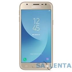Samsung Galaxy J3 (2017) SM-J330F gold (золотой) DS  {5″,1280 x 720 (HD),4G  LTE, Wi-Fi, GPS, ГЛОНАСС,8 МП+5МП,16 Гб,microSD,Android} [SM-J330FZDDSER]