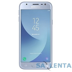 Samsung Galaxy J3 (2017) SM-J330F blue (голубой) DS {5″,1280 x 720 (HD),4G  LTE, Wi-Fi, GPS, ГЛОНАСС,8 МП+5МП,16 Гб,microSD,Android} [SM-J330FZSDSER]