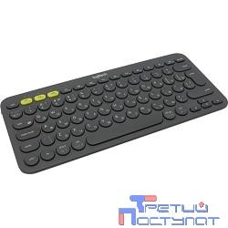 920-007584 Logitech Keyboard K380 Dark Grey Wireless Bluetooth RTL, Multi-Device