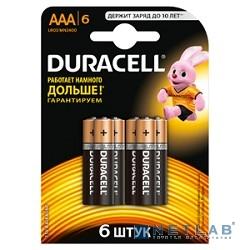 DURACELLl LR03-6BL BASIC (6 /60 /33840)