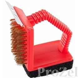 """Щетка GRINDA """"BARBECUE"""" для чистки мангалов и решеток [427770]"""