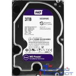 """3TB WD Purple (WD30PURZ) {Serial ATA III, 5400- rpm, 64Mb, 3.5""""}"""