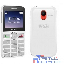 Alcatel 2008G Black/Pure White {2.4