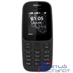 NOKIA 105 DS ТА-1034 BLACK (2017) [A00028315] {1.8