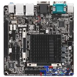 Gigabyte GA-J3455N-D3H RTL {Celeron J3455, 2*DDR3, SATA 6Gb/s, ALC887 8ch, 2*GLAN, USB3.1, D-SUB + HDMI, Mini-ITX}