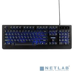 Гарнизон Клавиатура игровая GK-310G черный USB, металл, синяя подсветка, код ''Survarium'', антифант