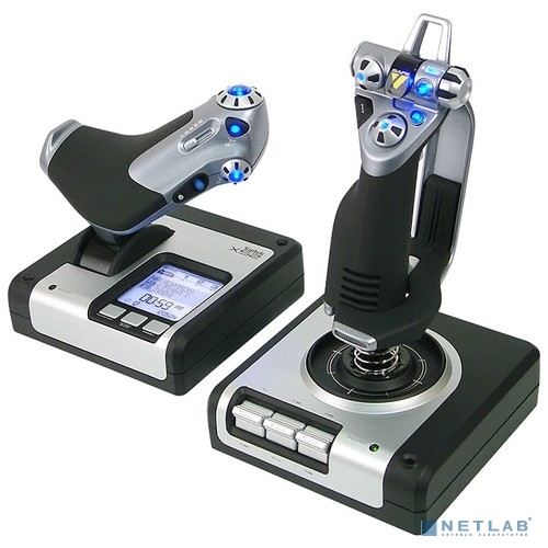 945-000006 Logitech G Saitek X52 Flight Control System - EMEA