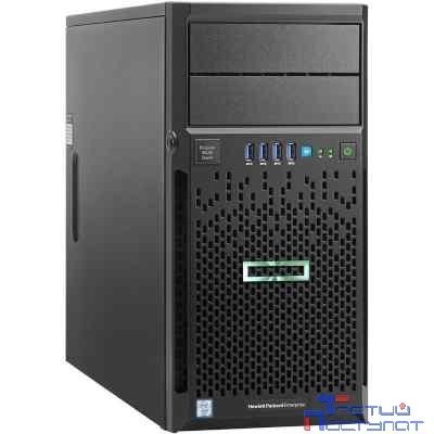 Сервер HPE ProLiant ML30 Gen9 E3-1220v6 Hot Plug Tower(4U)/Xeon4C 3.0GHz(8MB)/1x8GB1UD_2400/B140i(ZM/RAID 0/1/10/5)/2x1TB(4)LFF/DVD-RW/iLOstd(no port)/1NHPFan/2x1GbEth/1x350W(NHP) (873231-425)