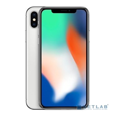 Apple iPhone X 64GB Silver (MQAD2RU/A)