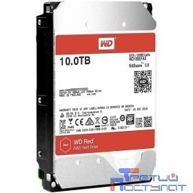 10TB WD Red (WD100EFAX) {Serial ATA III, 5400- rpm, 256Mb, 3.5