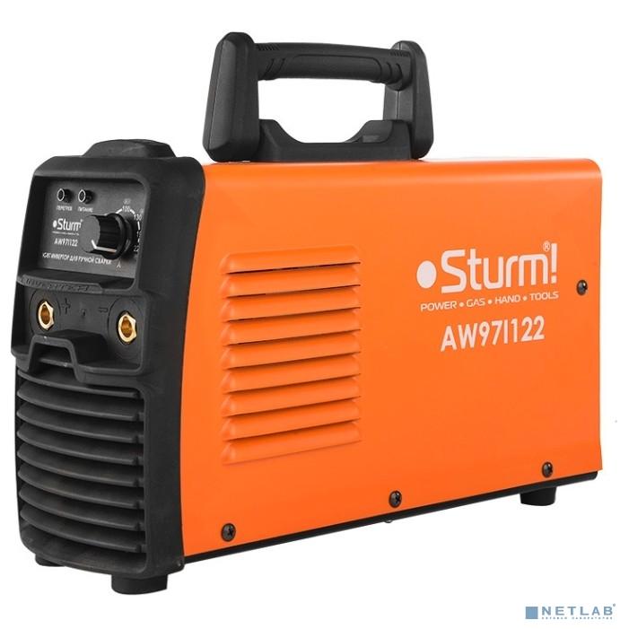 Sturm AW97I122 Сварочный аппарат Sturm,220А РАСШИР НАПР 160-250В, 60%, HotStart/AntiStick/ArcForc [AW97I122]