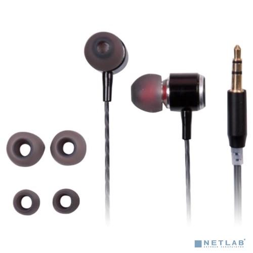 RITMIX RH-137 Black  наушники, вкладыши {92 дБ, разъем mini jack 3.5mm}