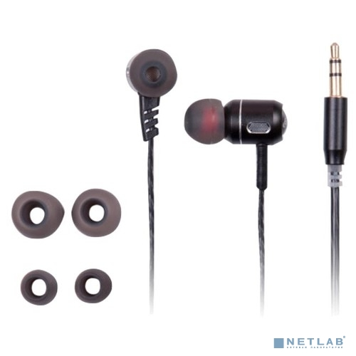 RITMIX RH-140 Black  наушники, вкладыши {105 дБ, разъем mini jack 3.5mm}
