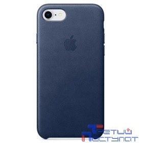 MQH82ZM/A Apple iPhone 8 / 7 Leather Case - Midnight Blue