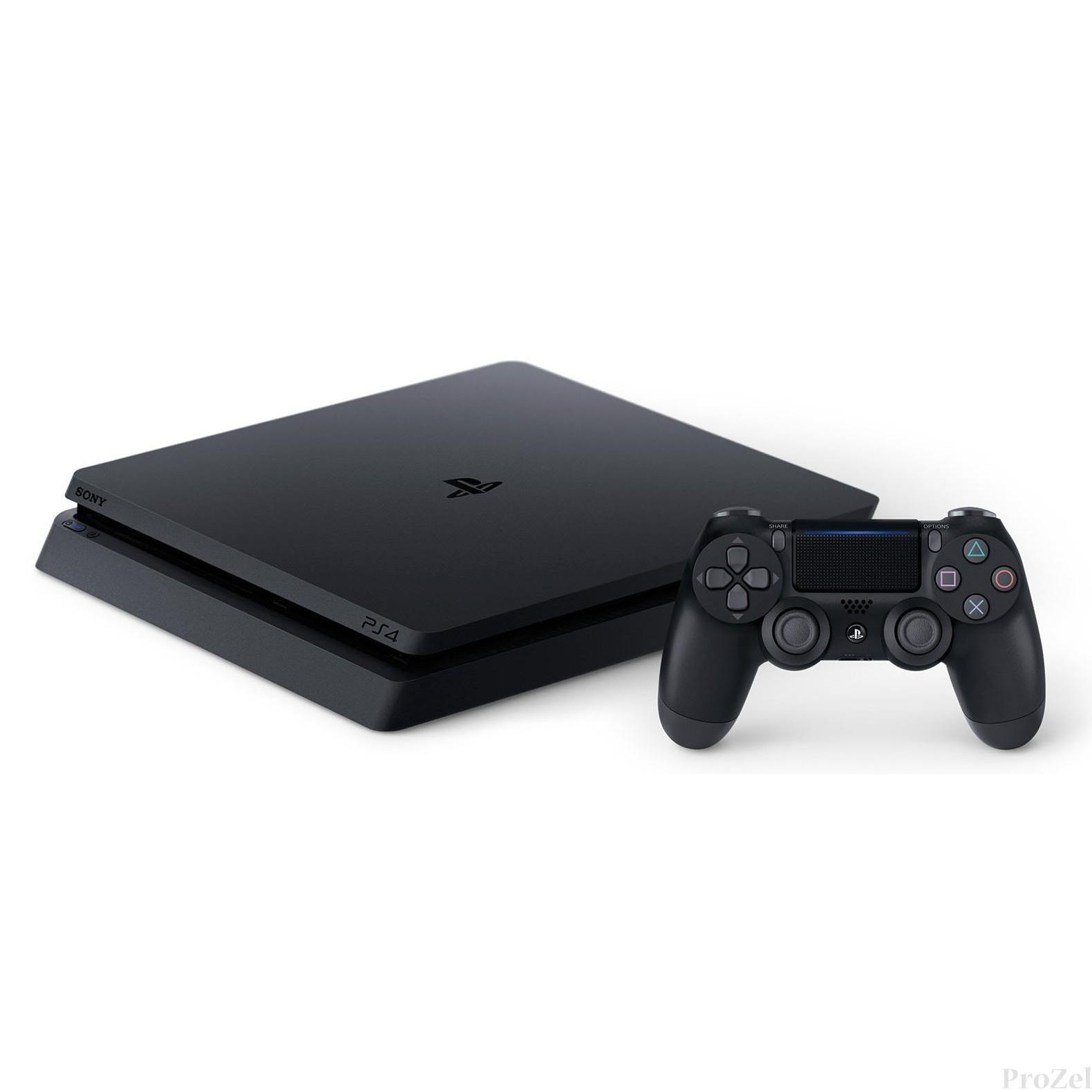 Sony PlayStation 4 500 Gb Slim (CUH-2108A) +HZD+GOW3+UC4+PSN 3мес [ConPS453]