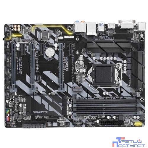 Gigabyte GA-Z370 HD3 RTL {LGA1151, Z370, 4*DDR4, 3xPCI-E, GbLAN, DVI, HDMI, SATA RAID, ATX}