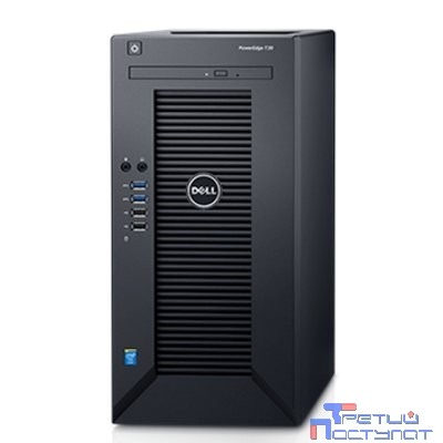 Сервер Dell PowerEdge T30 1xE3-1225v5 1x8Gb 2RLVUD x6 1x1Tb 7.2K 3.5