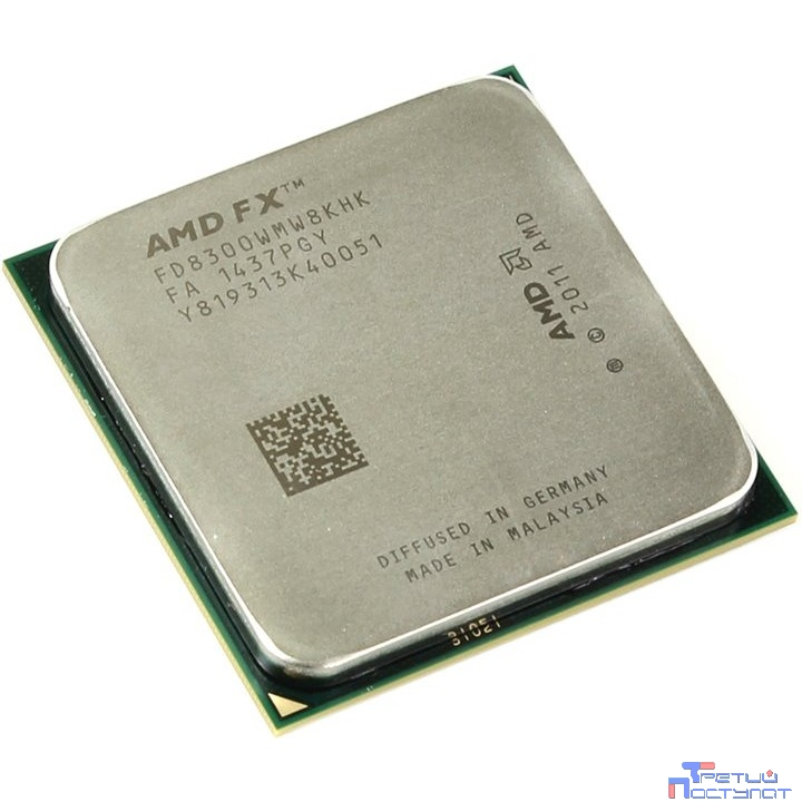 CPU AMD FX-8300 BOX {3.3ГГц, 8+8Мб, SocketAM3+}