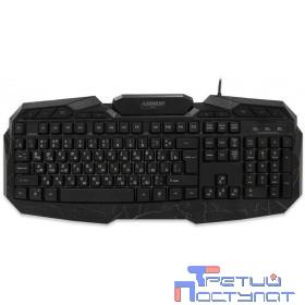 CBR KB 875 Armor USB {Клавиатура игровая, 103 стандартные клавиши + 11 дополнительных, подсветка рабочего поля/символов, 3 цвета подсветки, регул. интенсивности свечения}