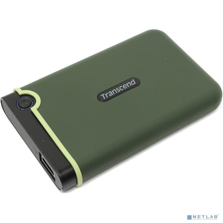 Transcend Portable HDD 2Tb StoreJet TS2TSJ25M3E {USB 3.0, 2.5'', green}