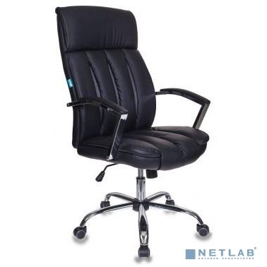 Кресло руководителя Бюрократ T-8000SL/BL+GR черный искусственная кожа крестовина хром
