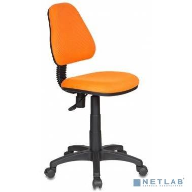 Кресло детское Бюрократ KD-4/TW-96-1 оранжевый TW-96-1