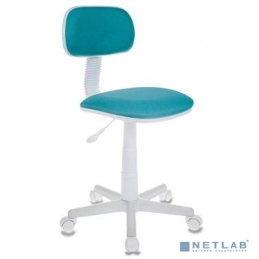 Кресло детское Бюрократ CH-W201NX/15-175 бирюзовый 15-175