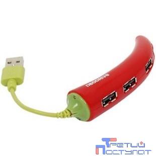 HUB USB 2.0 Konoos UK-43, 4 порта USB