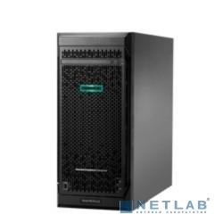 Сервер HP ProLiant ML110 Gen10, 1x 4110 Xeon-S 8C 2.1GHz, 1x16GB-R DDR4, S100i/ZM (RAID 0,1,5,10) noHDD (4 LFF 3.5'' HP) 1x550W NHP NonRPS, 2x1Gb/s, noDVD, iLO5+OVStd, Tower-4,5U, 3-3-3 (878452-421)