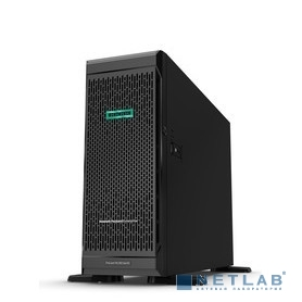 Сервер HPE ProLiant ML350 Gen10, 1(up2)x 3106 Xeon-B 8C 1.7GHz, 1x16GB-R DDR4, S100i/ZM (RAID 0,1,5,10) noHDD (4/12 LFF 3.5'' HP) 1x500W (up2), 4x1Gb/s, noDVD, iLO5Adv+OVStd, Tower-4U (877620-421)
