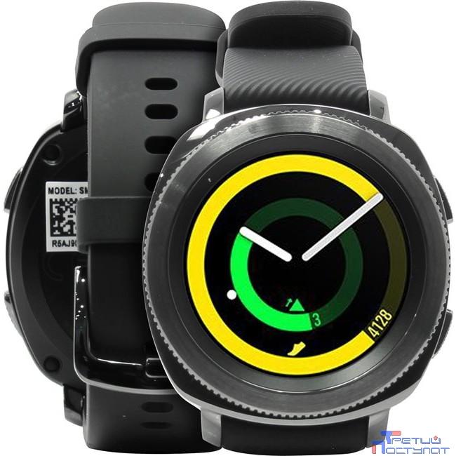 Sam. GearSport часы SM-R600 black [SM-R600NZKASER] {1GHz, 768MbRAM, 1.2