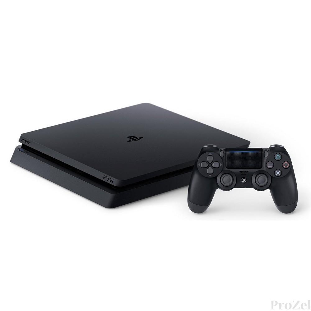 Sony PlayStation 4 500 Gb Slim (CUH-2108A) +HZD+GOW3+UC4+PSN 3мес + крышка HDD белая [ConPS456]