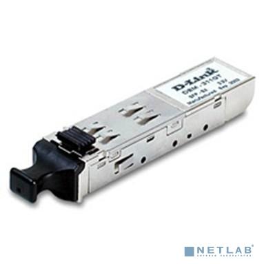 D-Link DEM-311GT/DD/J1A   SFP-трансивер с 1 портом 1000Base-SX для многомодового оптического кабеля (до 550 м)