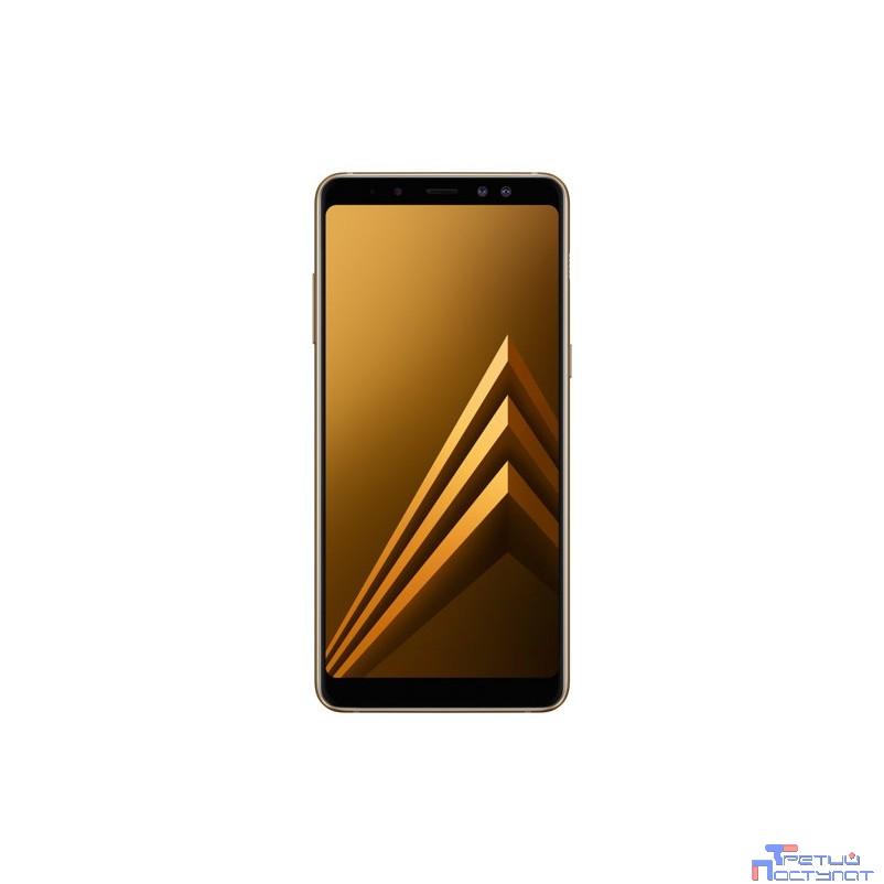 Samsung Galaxy A8 (2018) SM-A530F/DS gold (золотой) {5.6'' (2220x1080)IPS/Exynos 7885 Octa/32Gb/4Gb/3G/4G/16MP+16MP/8MP/Android 8.0} [SM-A530FZDDSER]