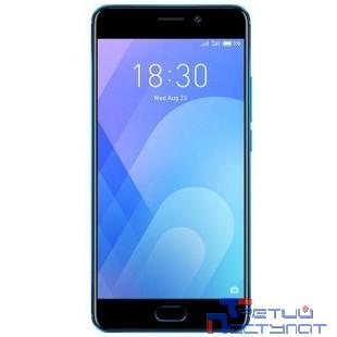 Meizu M6 Note Blue 16GB {5.5'' (1920х1080)IPS/Snapdragon 625 (MSM8953)/16Gb/3Gb/3G/4G/12MP+5MP/Android 7.0} [MZU-M721H-16GB-BL]