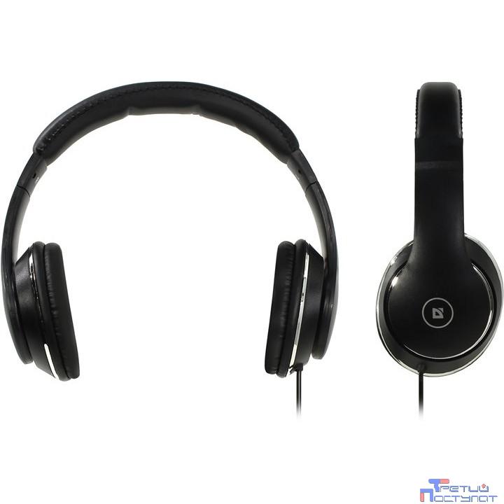 Defender Accord 185 черный, кабель 1,2 м [63185]