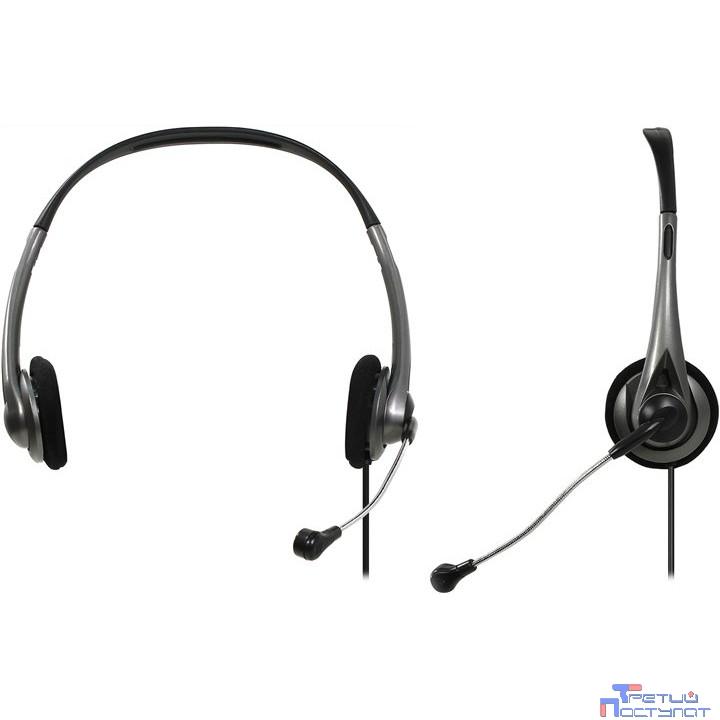 Defender Aura 114 черный + серый, кабель 1,8 м [63114]