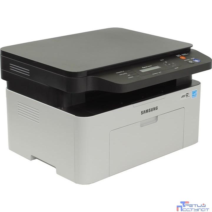 SAMSUNG SL-M2070W   SS298B#BB7  {лазерный принтер, сканер, копир, 20 стр./мин. 1200x1200dpi, A4, Wi-Fi,USB}