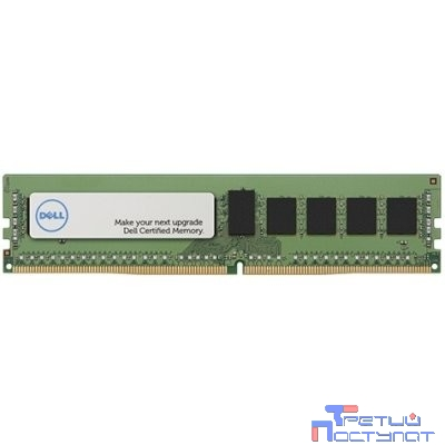 Память DELL 16GB (1x16GB) UDIMM 2400MHz , Dual Rank - Kit for G13 servers (R330, T330, R230, T130, T30) {analog 370-ADPP , 370-ADPT , 370-ACFT , 370-ACMH} 370-ADPT/370-ADPTt