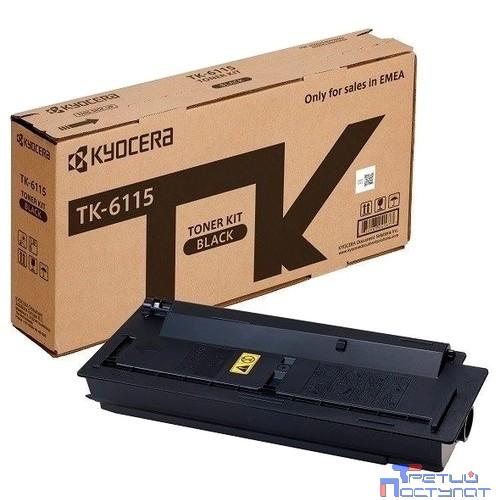 Kyocera-Mita TK-6115 Картридж, Black {M4125idn/M4132idn (15000 стр.)}