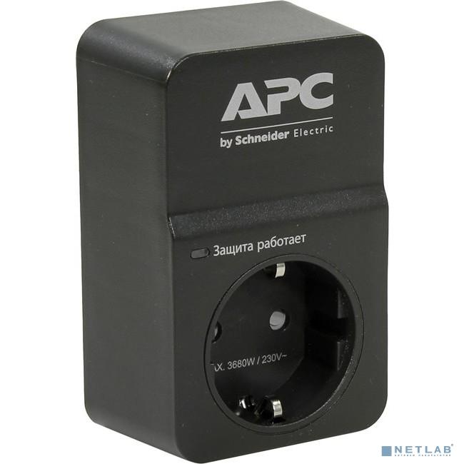 APC PM1WB-RS Сетевой фильтр 1 розетка,16A, черный