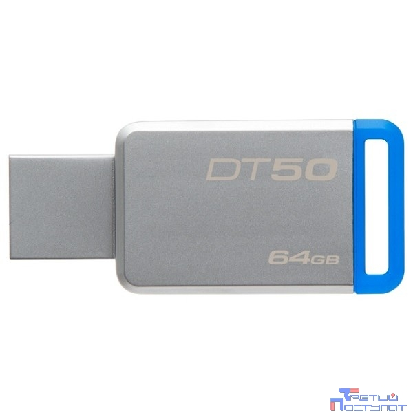 Kingston USB Drive 64Gb DT50/64GB {USB3.1}