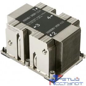 Supermicro SNK-P0068PS - 2U Passive CPU Heat Sink for LGA 3647, 108x78x64