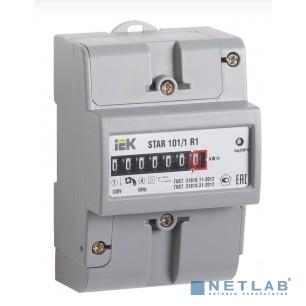 Iek CCE-1R1-1-01-2 Счетчик эл. энергии однофазный STAR 101/1 R1-5(60)М Ш2