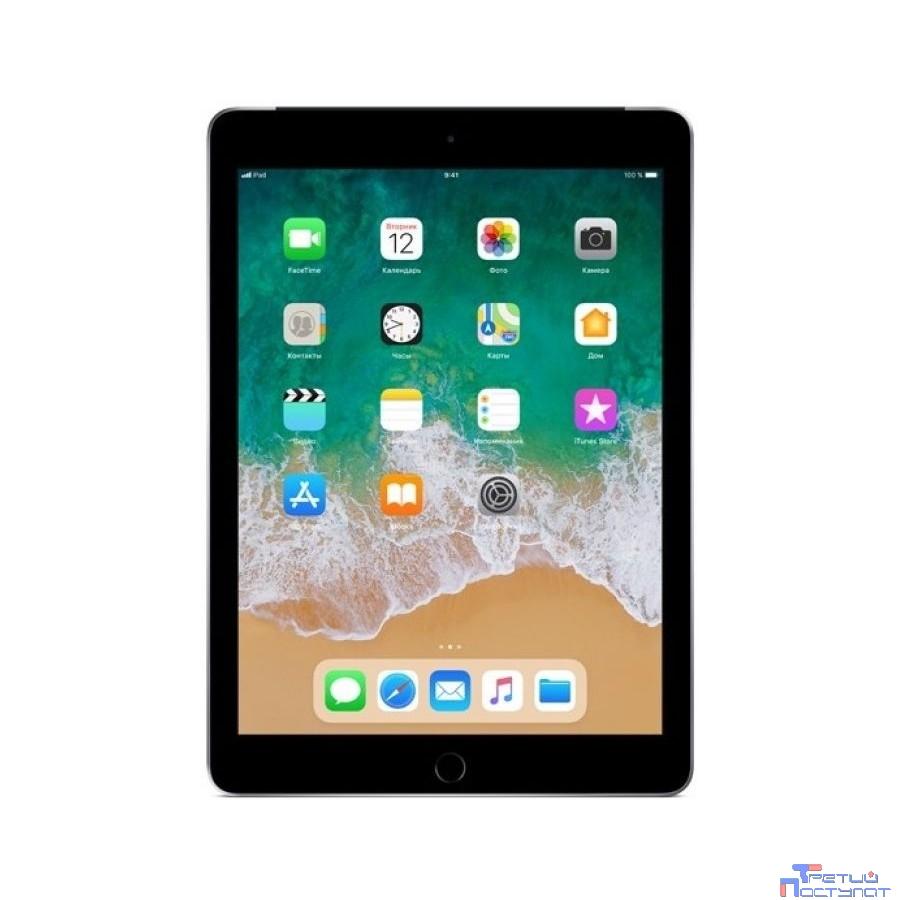 Apple iPad Wi-Fi + Cellular 32GB - Space Grey [MR6N2RU/A] (2018)
