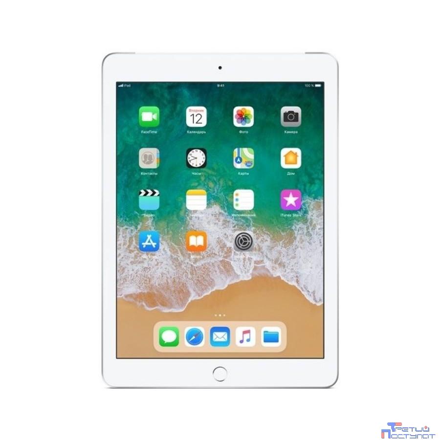 Apple iPad Wi-Fi + Cellular 32GB - Silver [MR6P2RU/A] (2018)
