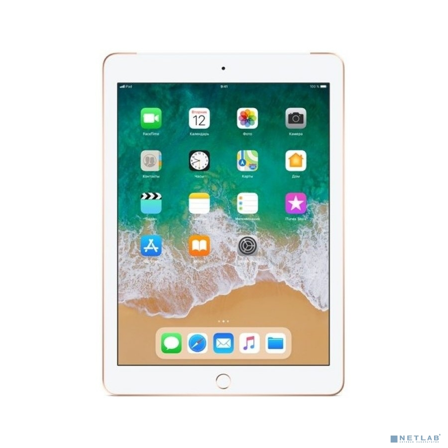 Apple iPad Wi-Fi + Cellular 32GB - Gold (MRM02RU/A) (2018)