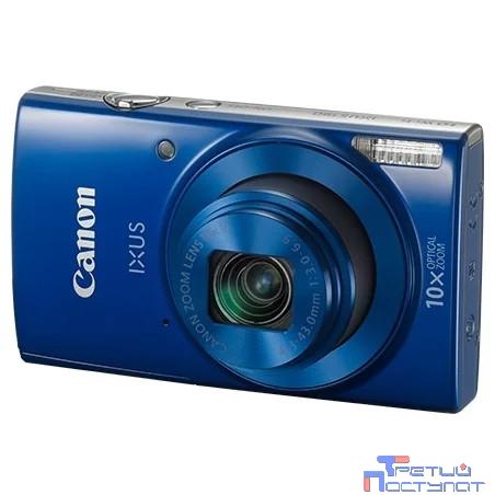 Canon IXUS 190 синий {20Mpix Zoom10x 2.7