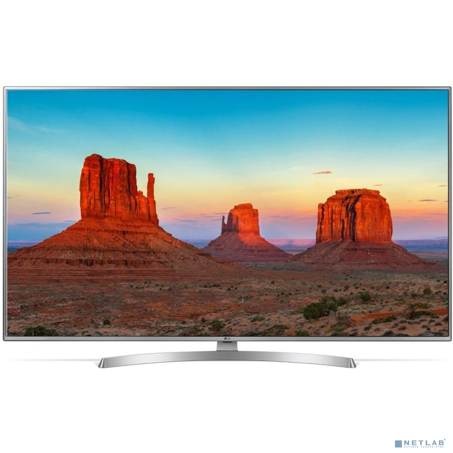 LG 43'' 43UK6510PLB серебристый {Ultra HD/50Hz/DVB-T2/DVB-C/DVB-S2/USB/WiFi/Smart TV (RUS)}